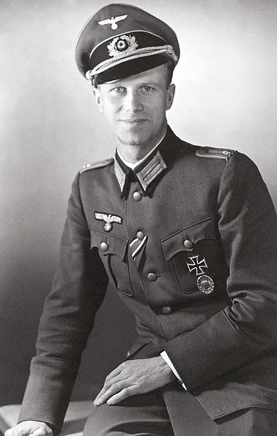 Photo shows Werner von Haeften
