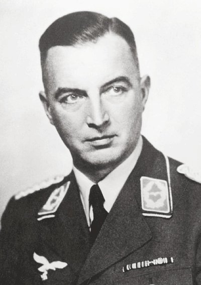 Photo shows Cäsar von Hofacker