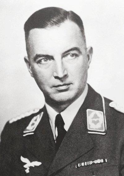 Photo shows Cäsar von Hofacker