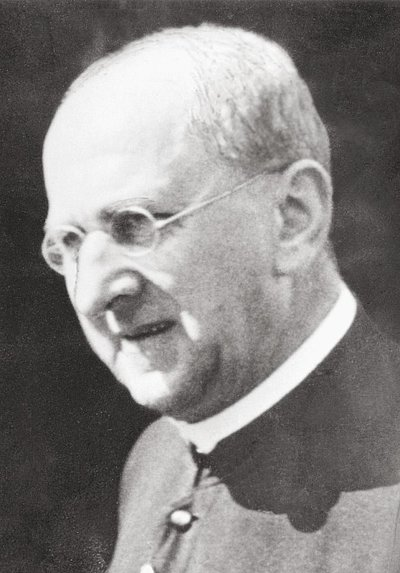 Photo shows Bernhard Lichtenberg