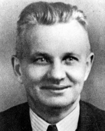 Photo shows Oswald Wiersich